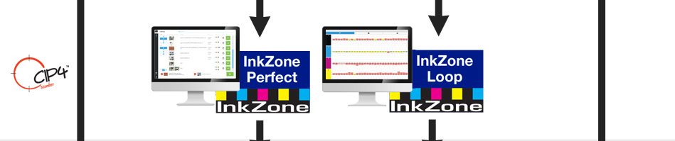 Inkzone si interfaccia con i principali densitometri e spettrofotometri