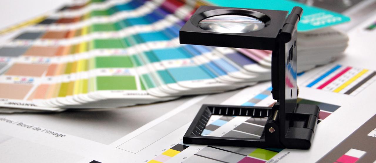 press check - controllo schiacciamenti e densità della stampa offset