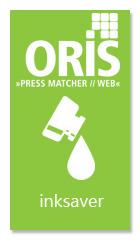 Inksaver è la funzione avanzata di ORIS per il risparmio dell'inchiostro