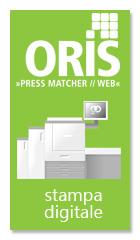 ORIS è il sistema per la gestione colore dedicato alla stampa digitale