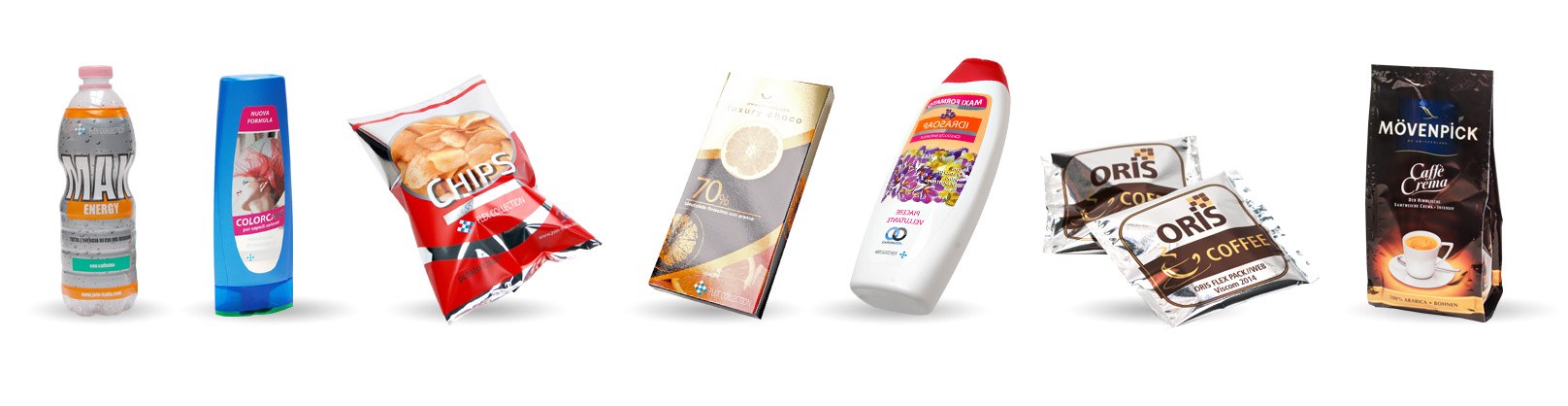 ORIS flexpack - sistema per la stampa di mock-up e per la prototipazione packaging