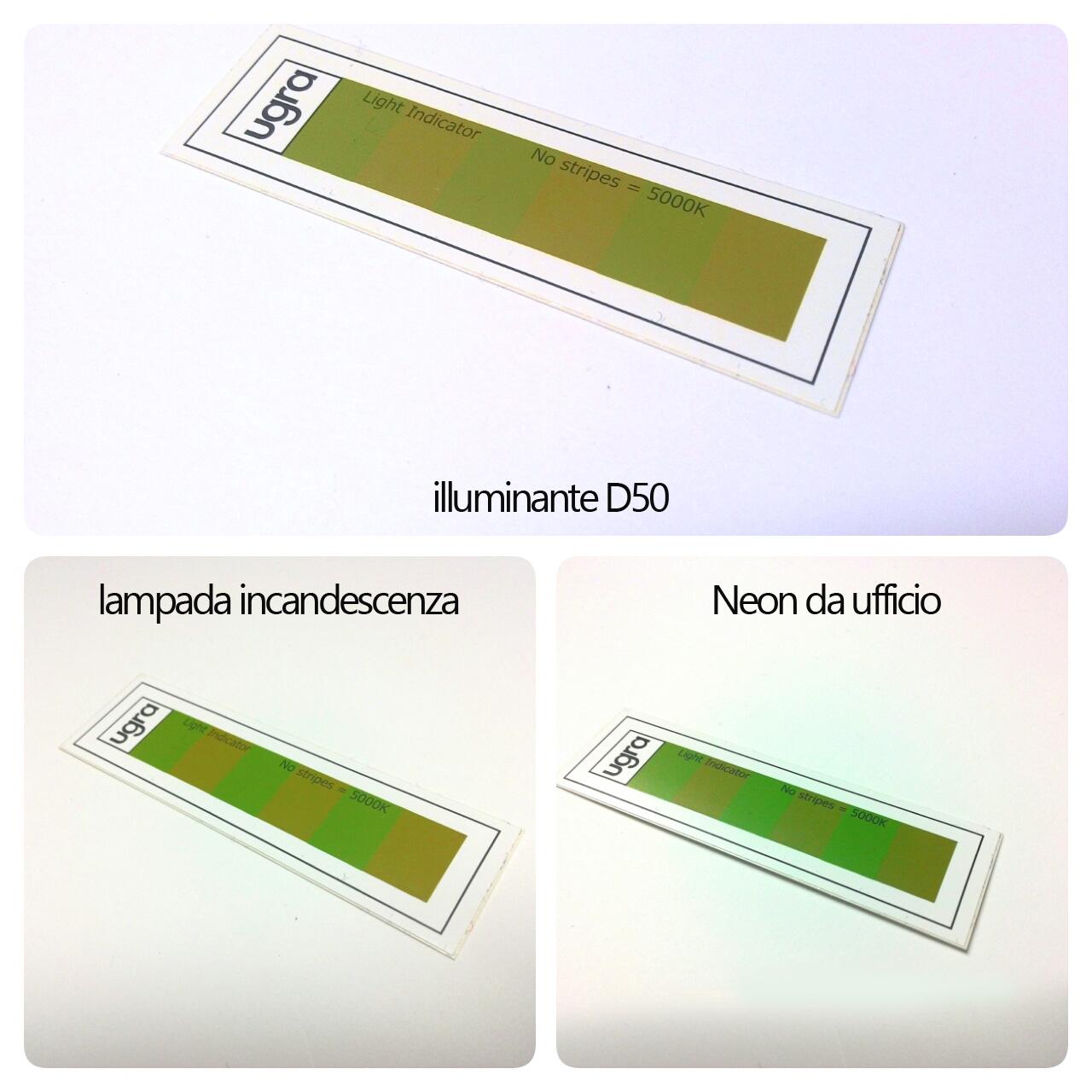 illuminazione stampa e metamerismo