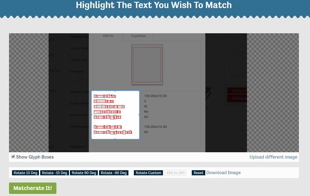 riconoscere e trovare un font a partire da un file pdf