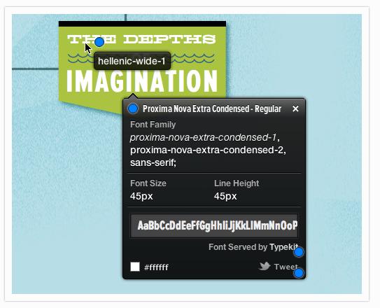 riconoscere un font dalla pagina web