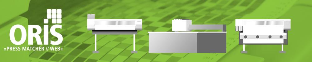 ORIS Pressmatcher permette di ottimizzare la qualità e il consumo di inchiostro per la stampa grande formato