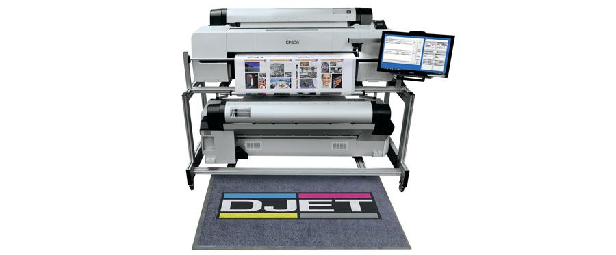 Con DJet ed Epson Surecolor l'unica soluzione per la stampa digitale fronte-retro fino al formato 70x100