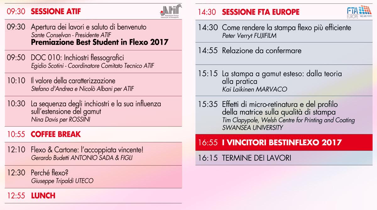 Programma orari e luogo del flexoday 2017