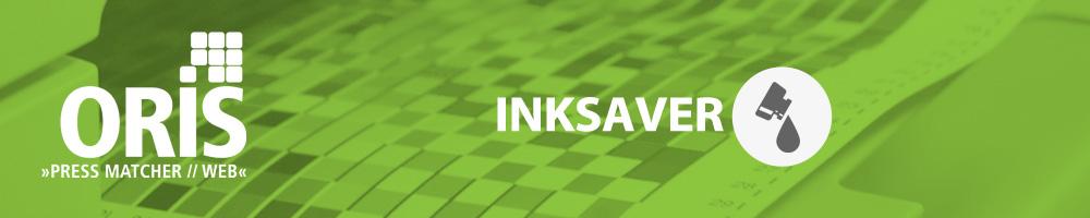 ORIS Inksaver è il sistema che permette di risparmiare inchiostro sulla stampa