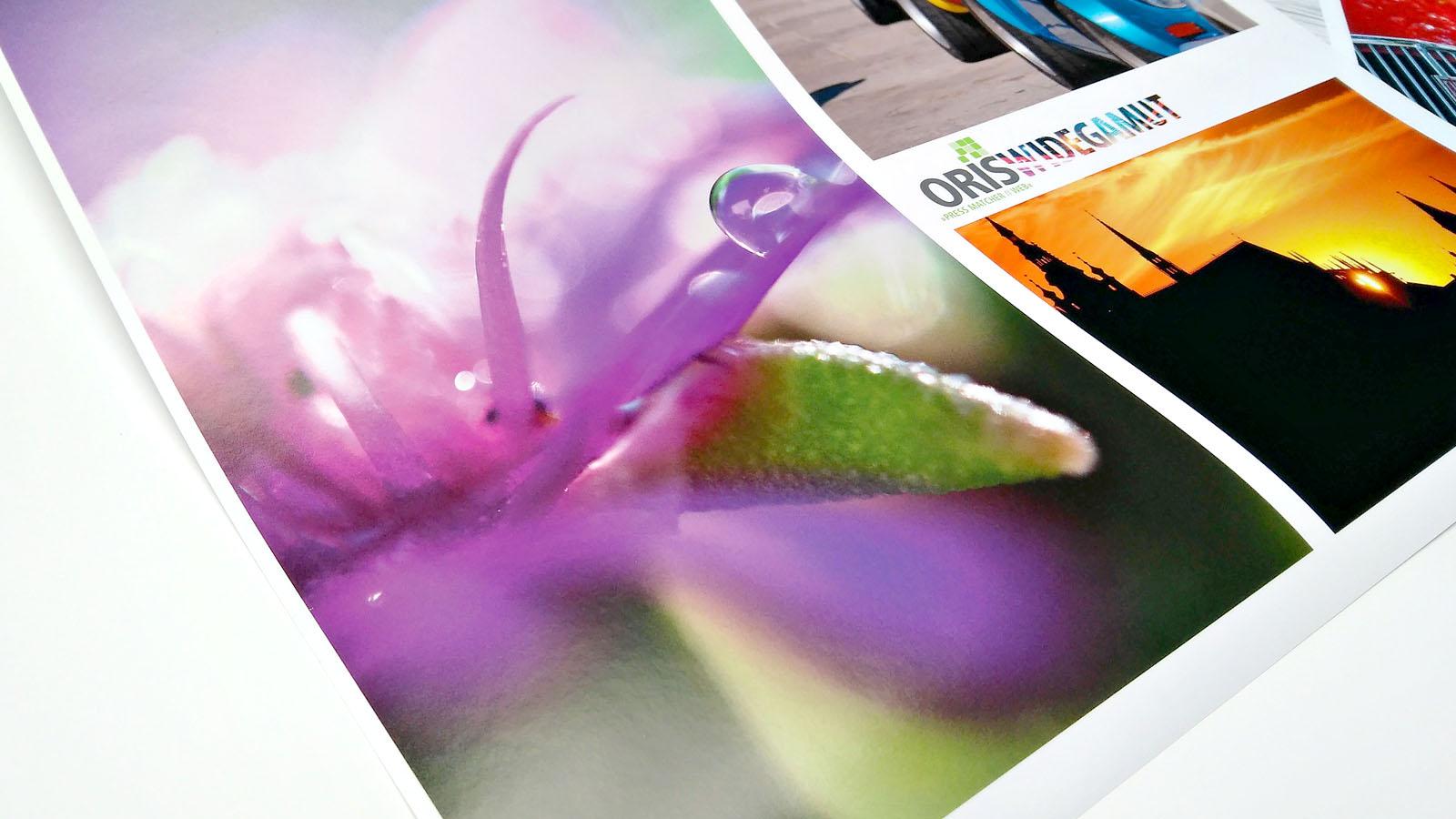 Widegamut permette di stampare le immagini RGB e CMYK sfruttando il gamut aumentato delle stampanti