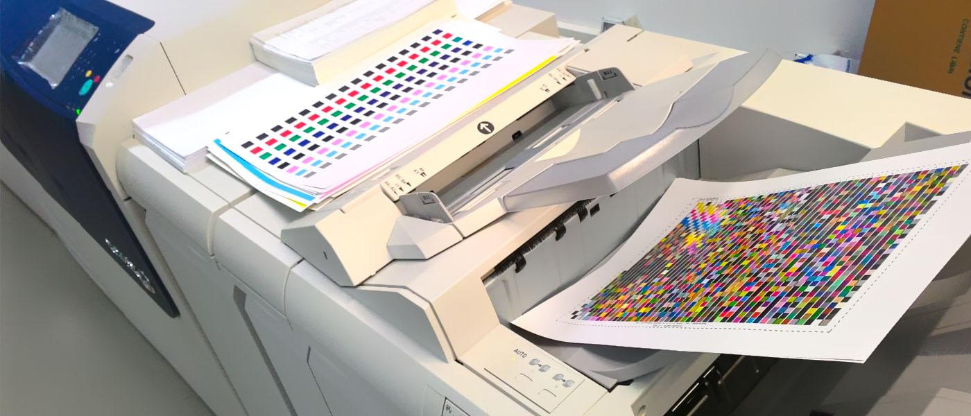 Calibrazione di una stampante digitale Canon, Konica Minolta, Ricoh, Xerox o altre, con ORIS Pressmatcher Web