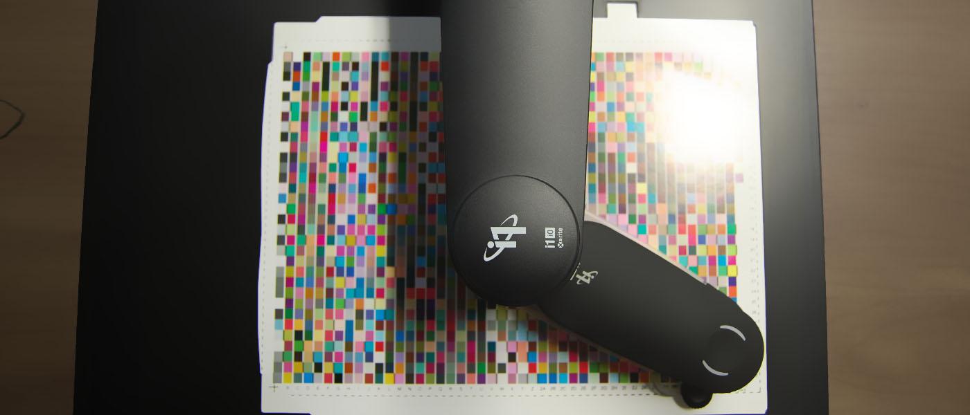 Calibrazione di una stampante digitale Canon, Konica Minolta, Ricoh, Xerox o altre, utilizzando uno spettrofotometro xrite i1