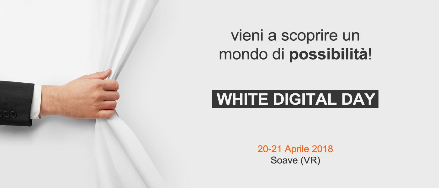 Vieni a scoprire l'innovazione nella stampa digitale all'evento esclusivo a Verona: il White Digital Day.