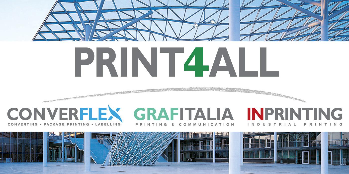 Print4All è la fiera dedicata al mondo delle arti grafiche e del packaging. Vieni a trovarci!