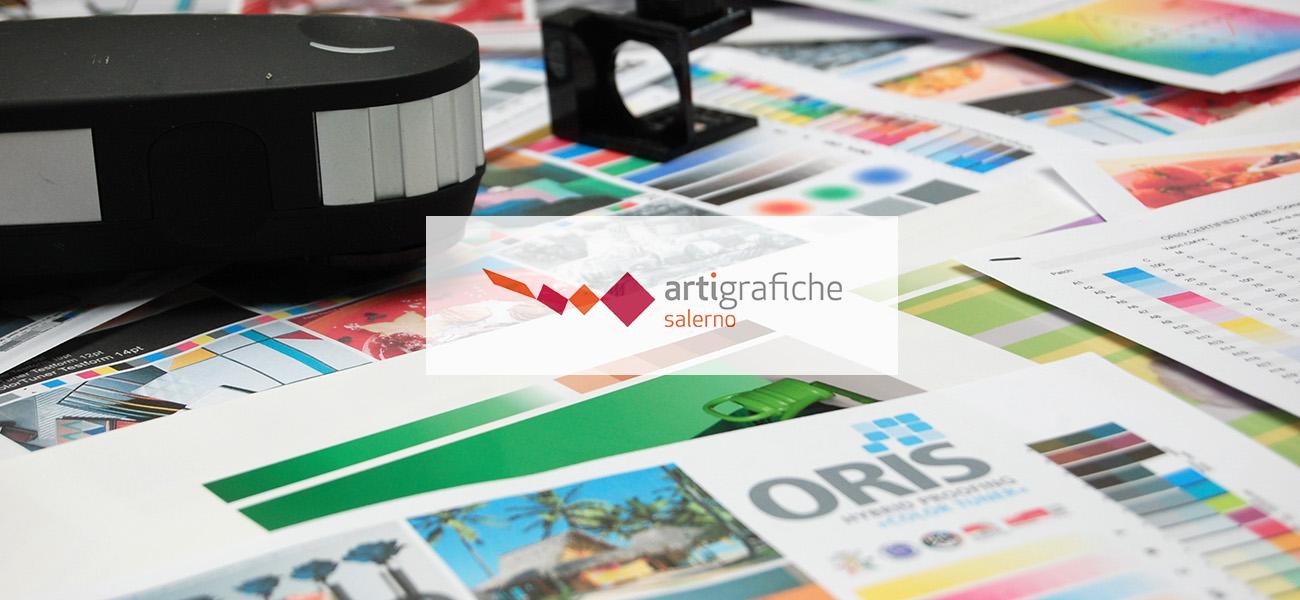 Arti grafiche Salerno rappresenta un punto di riferimento per la stampa digitale a Salerno. anche grazie all'uso del sistema di Color Management ORIS