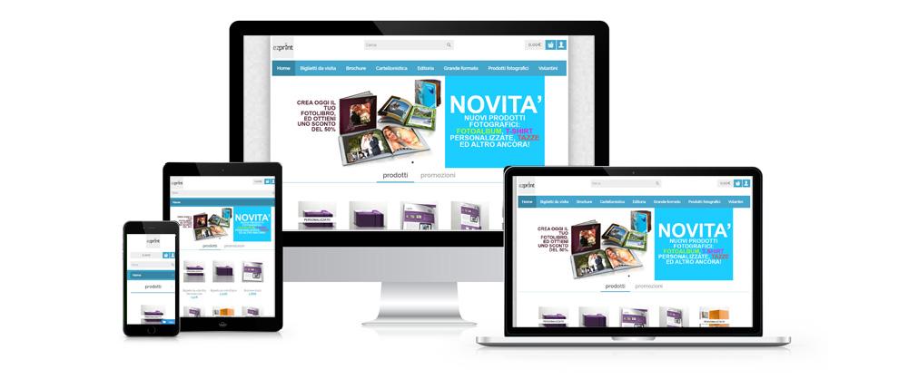 ezprint è il sistema completo per la stampa online: preventivatore, e-commerce e gestione della commessa, tutto in un unico sistema!